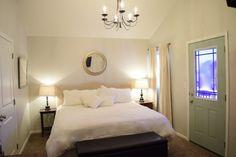 20 DIY Home Improvement Ideas - Love Remodeled House Color Schemes, House Colors, Dingy Whites, Old Wood Floors, Carpet Cover, Best Paint Colors, Brown Carpet, High Walls, Modern Carpet