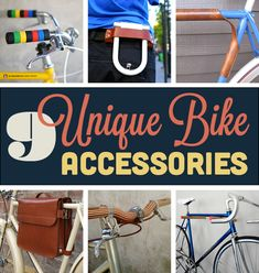 Roundup: 9 Unique, Stylish Bicycle Accessories