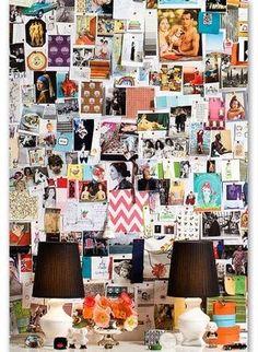 Diane Bergeron's inspiration board
