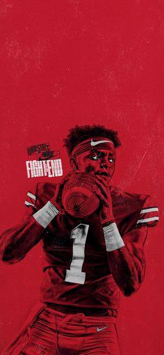 Buckeyes Football, Football Art, Ohio State Buckeyes, Football Stuff, Ohio State Football Wallpaper, Ohio State Wallpaper, Odell Beckham Jr Wallpapers, Field Wallpaper, Sports Graphic Design