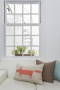 Bayswater - Cushions by the sash window