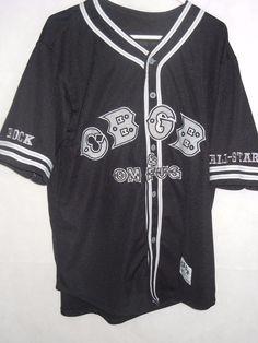 684dfc9b8f0dea CBGB OMFUG men s XL jersey sewn lettering logos baseball  73 Rock All-Stars