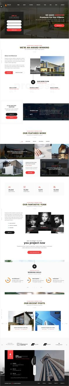 Arch is a Premium One page & Multi-page #bootstrap template best suitable for #Design Architecture, #Engineering agencies, photographers and personal portfolios related services website download now➩ https://themeforest.net/item/arch-multipurpose-onepage-multipage-html-template/18567948?ref=Datasata