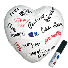 Plaster Cast ceramic heart the perfect gift