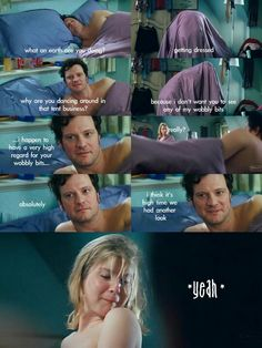 I love Bridget Jones' Diary:Edge of Reason!