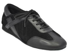Most Popular Mens Shoes For West Coast Swing & Shag - Mens Ultimate Black Hybrid - Price: $99.00