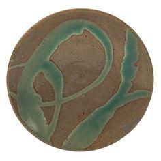 Shoji Hamada plate, Japan, 1952, glazed stoneware : Lot 921