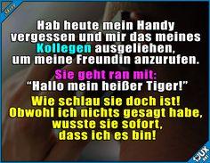 So eine tolle Freundin!  #Freundin #Seitensprung #nurSpaß #Humor #lustig #Sprüche #lustigeBilder