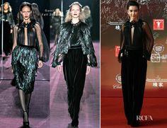 Li Bingbing In Gucci – 15th Shanghai Film Festival
