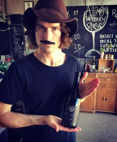 Alex is working his mo skillz for #internationaltempranilloday & you should too Drop by our cellar door today for a sneaky #Tempranillo & tapas plus a chance to win a prize for your best mo efforts  #tapas #wine #cellardoor #portfairy #warrnambool #visitgreatoceanroad #seevictoria #victoria #movember by basaltwines