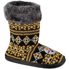 Women's Pittsburgh Steelers Aztec Boots