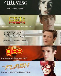 I've watched all these and that was before I became his fan  because his fan when he started playing flash the second best superhero (ARROW is the best)