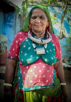 Loved her Jewellery! #India #travel #people