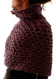 """I may have to spend the money to get this pattern. I love how it looks. Crochet """"Magnum Capelet #4"""" by knit 1 LA."""