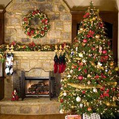árvore de natal tradicionais - Pesquisa Google
