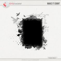 Make It Count mask freebie from Kim Broedelet Shutter Speed Photography, Action Photography, Photography Lessons, Photography Business, Background Site, Hd Background Download, Digital Scrapbooking Freebies, Digital Scrapbook Paper, No Photoshop