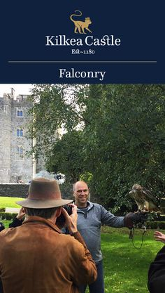 Kilkea Castle provides its guests with many different experiences, including the noble and ancient sport of falconry, which offers a unique and memorable experience to all guests.