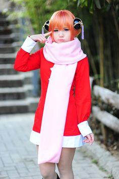 Gintama cosplay - cute Kagura Yato