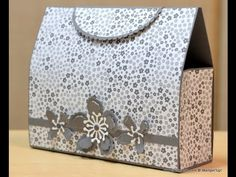 No.198 - Kelly's Clutch Bag - JanB UK Stampin' Up! Demonstrator Independent - YouTube