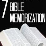 7 Benefits of Bible Memorization