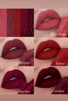 Makeup Swatches, Makeup Dupes, Makeup Kit, Eye Makeup, Mac Lipstick Colors, Lipstick Shades, Lip Colors, Glossy Lips, Matte Lips