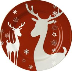 Waechtersbach Winter Splendor Salad Plates, Reindeer Red, Set of 4 by Waechtersbach. Save 26 Off!. $28.28. Mix and Match colors for a new table everyday. Hand crafted in Germany. Set of 4 Christmas Salad Plates, 8-1/4-Inch Diameter. Material: porcelain. Dishwasher safe; Not recommended for microwave or oven use. The Colorful World of Waechtersbach. Vibrant colors, brilliant glaze work and contemporary designs. High quality ceramic tableware and accessories, European manufactured since…