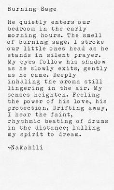Burning Sage #poem #prose #poetry