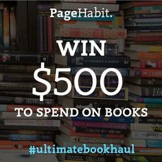 I just entered the #UltimateBookHaul Giveaway from @pagehabit. They're giving away $500 to buy books! Enter here, http://vy.tc/ddnPd89 Winner announced August 7th! #igers #book #instalike #giveaways #instadaily #instalove #GoodVibes #positivevibes #free #bookstagram #books