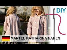 DIY Mantel bzw. Jacke mit Futter nähen für Anfänger – Zierstoff Schnittm...