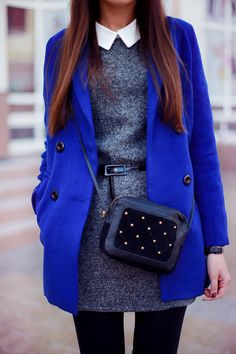 Fashion Agony: Look of the Day: Royal Blue