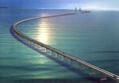 The Lake Pontchartrain Causeway, or the Causeway, consists of two parallel bridges that are the longest bridges in the world by total length. Description from curiousread.com. I searched for this on bing.com/images