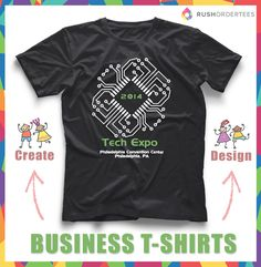 3e0ea6875 67 Best T-Shirts For Your Business images | Shirt designs ...