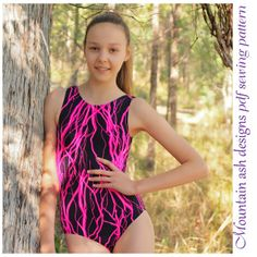 Leotards 9 Ladies Leotard Pattern | YouCanMakeThis.com