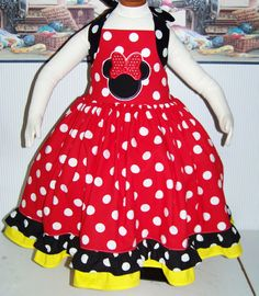 MInnie Twirl Dress Tea Party Disneyland or by RuthSewingRoom,