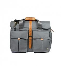 NEW Full Briefcase by PKG | $135 | PKG's briefcase takes its inspiration from the technical materials and slim silhouettes of modern urban outdoor apparel. It's a water resistant, durable, large capacity with an external laptop compartment and front pockets for ultimate versatility. An excellent choice for travelling and commuting. | GOTSTYLE.CA