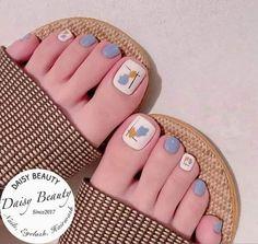 Pretty Toe Nails, Cute Toe Nails, Toe Nail Art, Cute Acrylic Nails, Cow Nails, Feet Nails, Simple Nail Art Designs, Toe Nail Designs, Stylish Nails