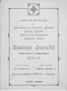 catalogo domingo queralto 1922