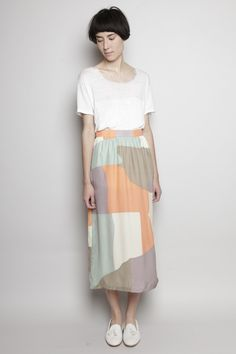 I snagged the last one. I love this dress!   Dusen Dusen - Long Skirt - Map