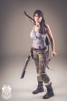 "Impressive ""Rise of the Tomb Raider"" Lara Croft Photo Shoot [Cosplay]"