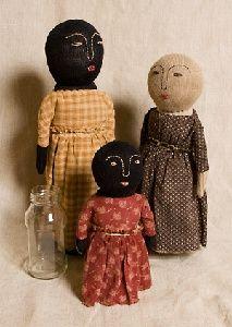 bottle dolls by Tweed Weasel