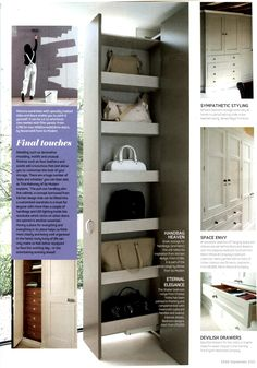 Bespoke bedrooms from Martin Moore & Company - Essential Kitchen Bathroom Bedroom Magazine September 2013 http://www.martinmoore.com/