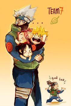 Kakashi die once.... yep! He needed all the luck in the world