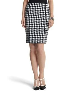 Business Clothes for Women - White House | Black Market .... I've been looking for a houndstooth skirt!