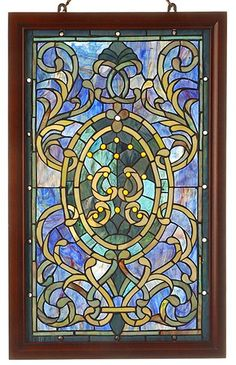 door wall sticker stained glass with bevels self adhesive vinyl decal poster mural self. Black Bedroom Furniture Sets. Home Design Ideas
