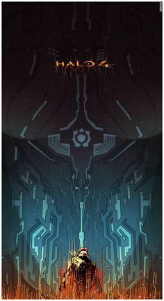 Halo 4 Art, by MattFerguson
