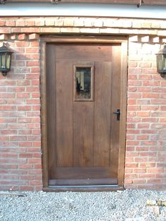 ledged plank oak external door windows and doors pinterest external doors doors and front doors - Exterior Back Doors
