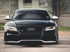 Vossen read that as an Audi S 5 Vossen. I love Audis, the R 8 is way cool, the L is uber luxorius. The TT coupe is the poor man's sports car. Every Audi to fill every garage. (And I love Japanese cars; this is my favorite German car}. Audi A5 Coupe, Rs5 Coupe, Audi S5, Supercars, Lamborghini, Black Audi, Black Cars, Automobile, Cheap Car Insurance