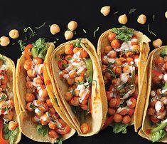 Vegan Richa's Buffalo Chickpea Tacos, vegan and gluten-free