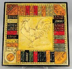 early monopoly board