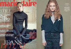 November'15 #MarieClaire - #shirt #danieladallavalle #collection #fw15 #elisacavaletti